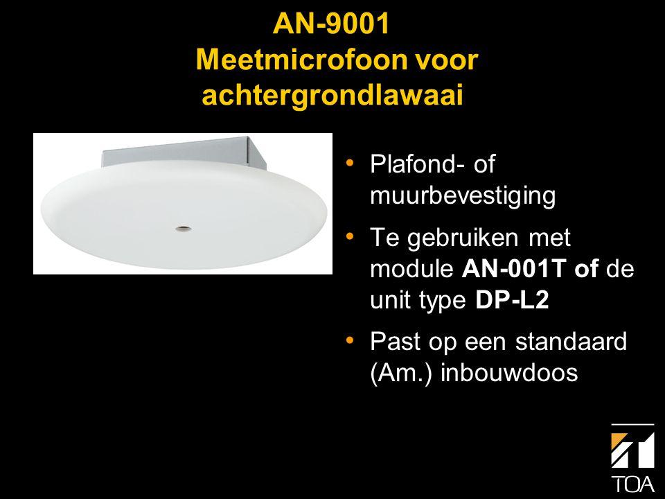 9000 serie Ambient Noise Control • Ideaal voor omroep- en achtergrondmuziek waarbij het achtergrondlawaai in sterkte variëert zoals in restaurants, hotels en warenhuizen.