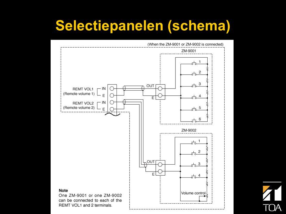 C-001T Contactmodule • Acht vrij programmeerbare contactingangen voor: • Gebeurtenissen (events) • Volumeregeling (Up/Down) voor ingang of uitgang • Mute (ingang of uitgang) • Aan / Uit functie (netvoeding) • Mute (t.b.v.
