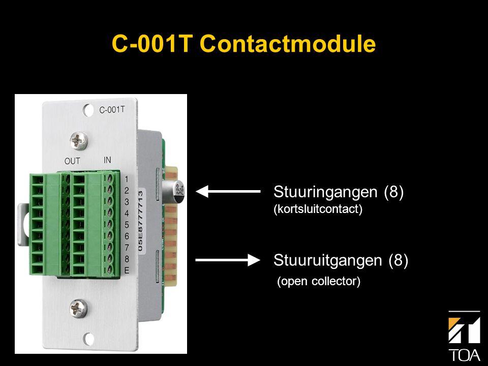 RS-232C Aansluiting • AMX en Crestron softwaremodules zijn beschikbaar.