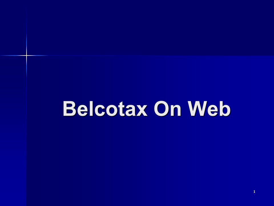 1 Belcotax On Web