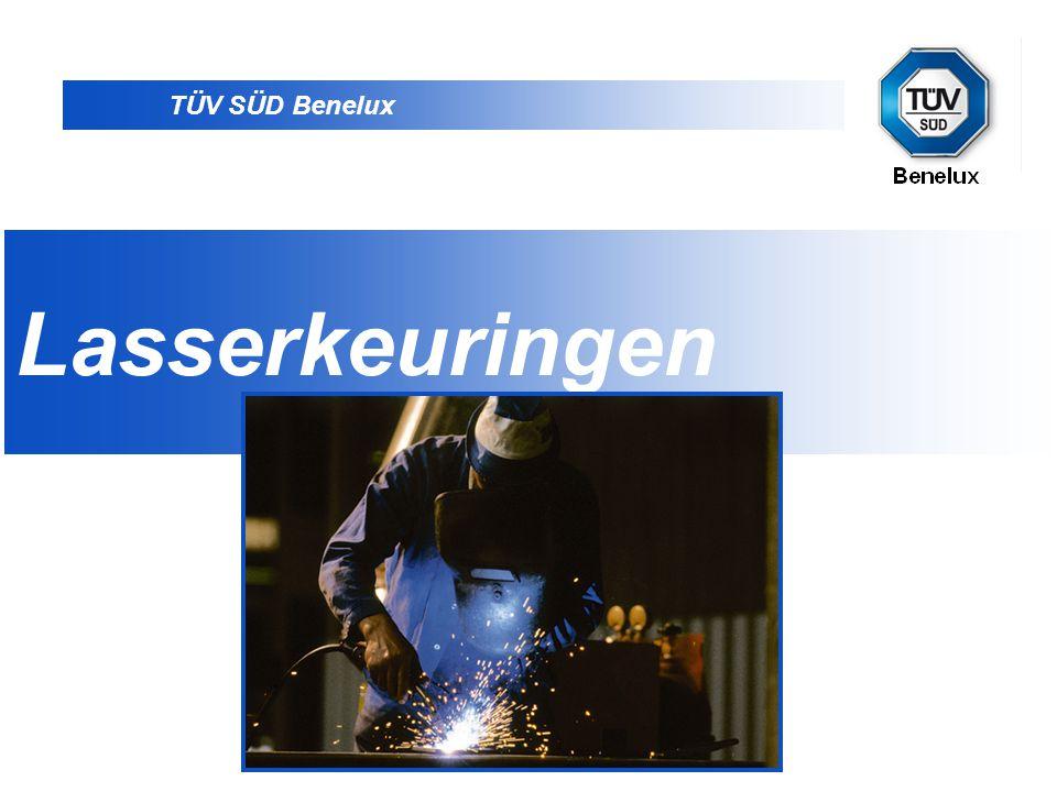 TÜV SÜD Benelux D •TÜV SÜD Benelux is een dochteronderneming van de TÜV SÜD Group met hoofdzetel in München.