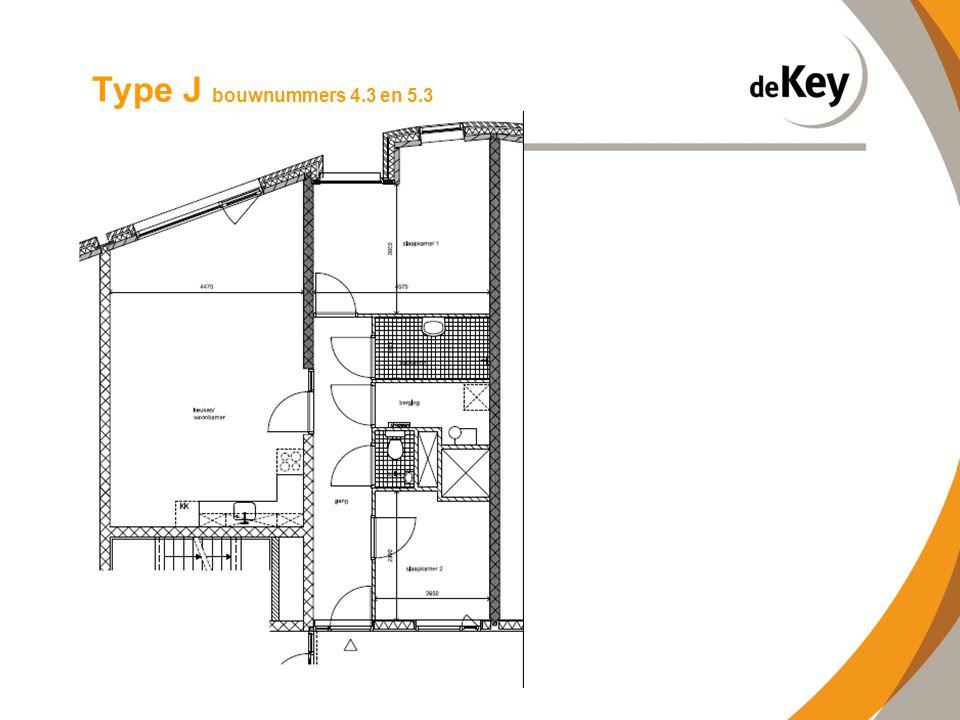 Type J bouwnummers 4.3 en 5.3