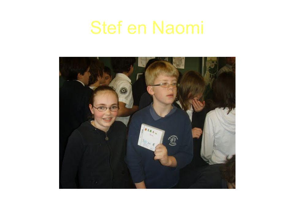 Stef en Naomi