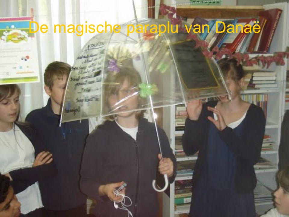De magische paraplu van Danaë