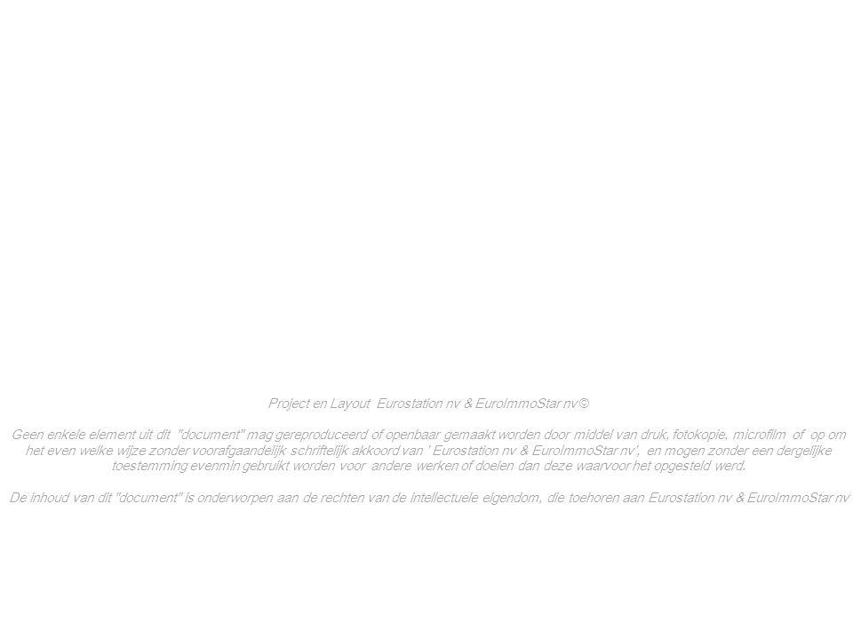 23.03.2012 I\BMG1U\ 100 STE\110 PROJCOMM\115 \BMG\04. STIB-RVdeProgrès-20120323 15 Brussel-Zuidstation Project en Layout Eurostation nv & EuroImmoStar