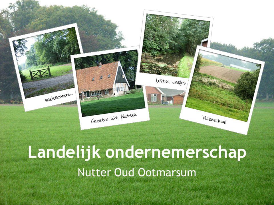 Landelijk ondernemerschap Nutter Oud Ootmarsum