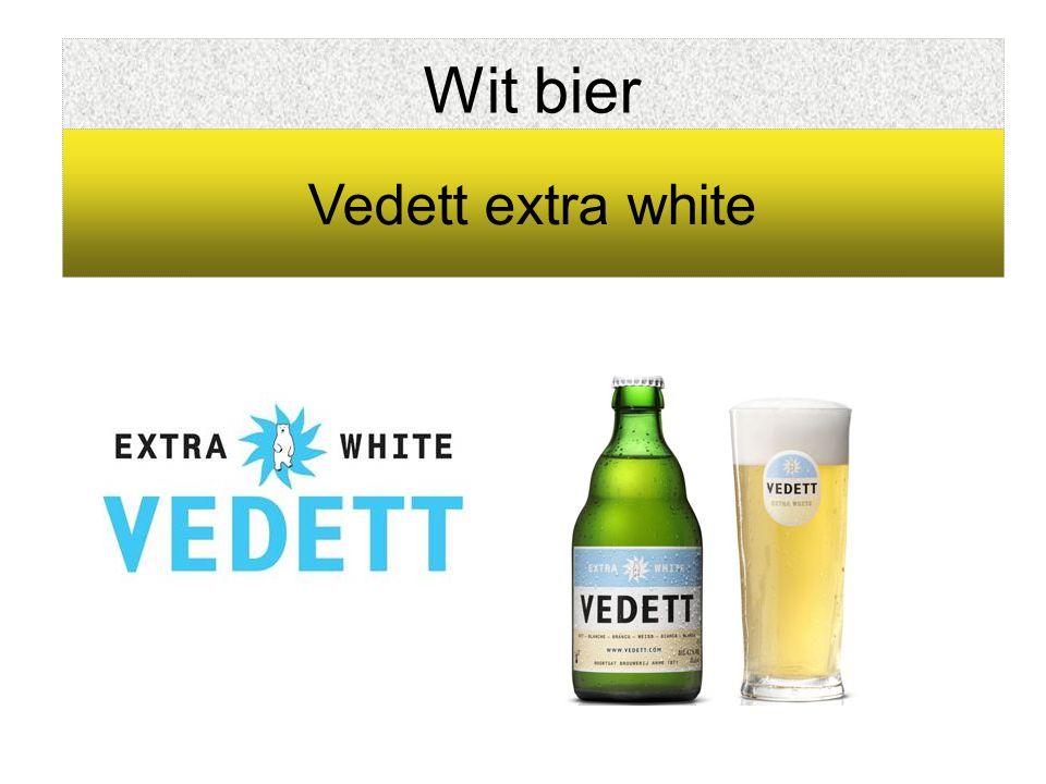 Wit bier Vedett extra white