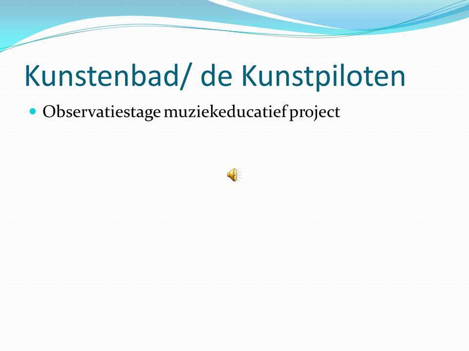 Evaluatie  Tussentijdse evaluatie, met feedback o.a.