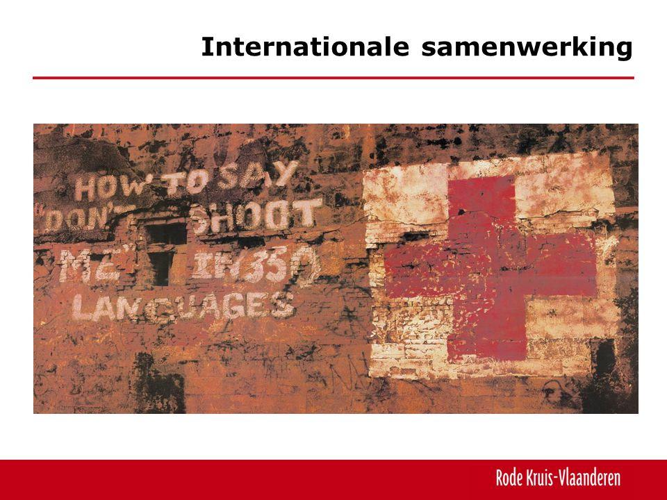 Internationale samenwerking noodhulp wederopbouw vermisten opsporen informeren