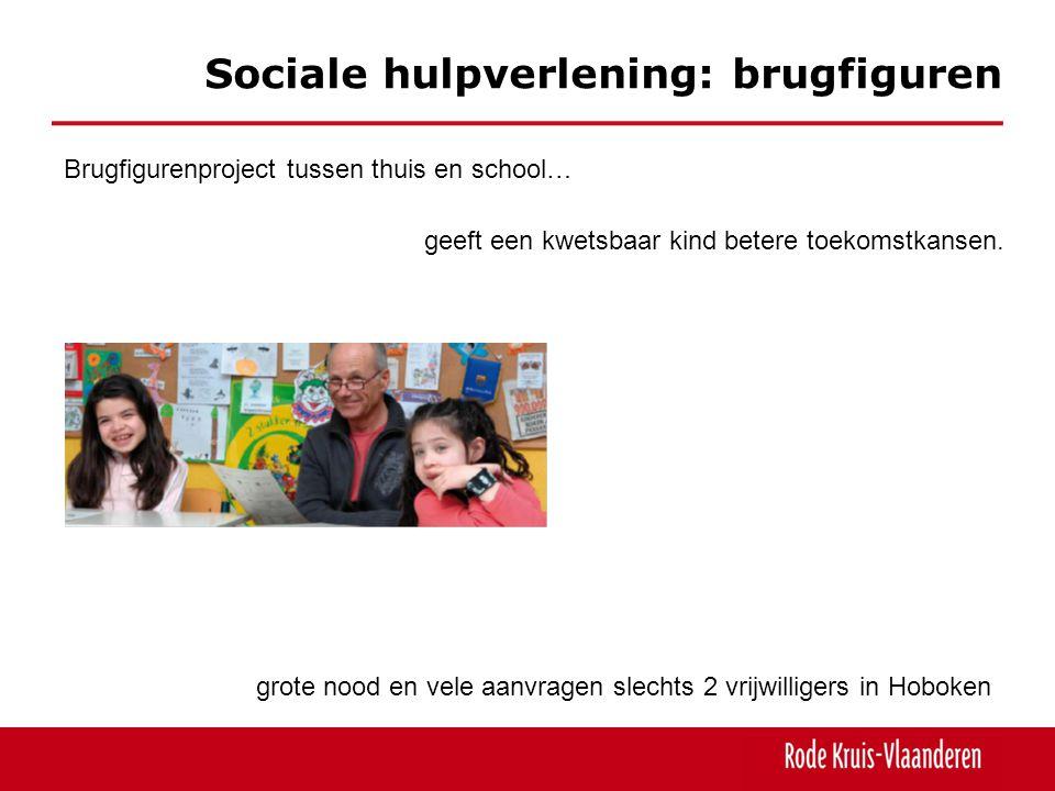 Sociale hulpverlening: brugfiguren geeft een kwetsbaar kind betere toekomstkansen. Brugfigurenproject tussen thuis en school… grote nood en vele aanvr