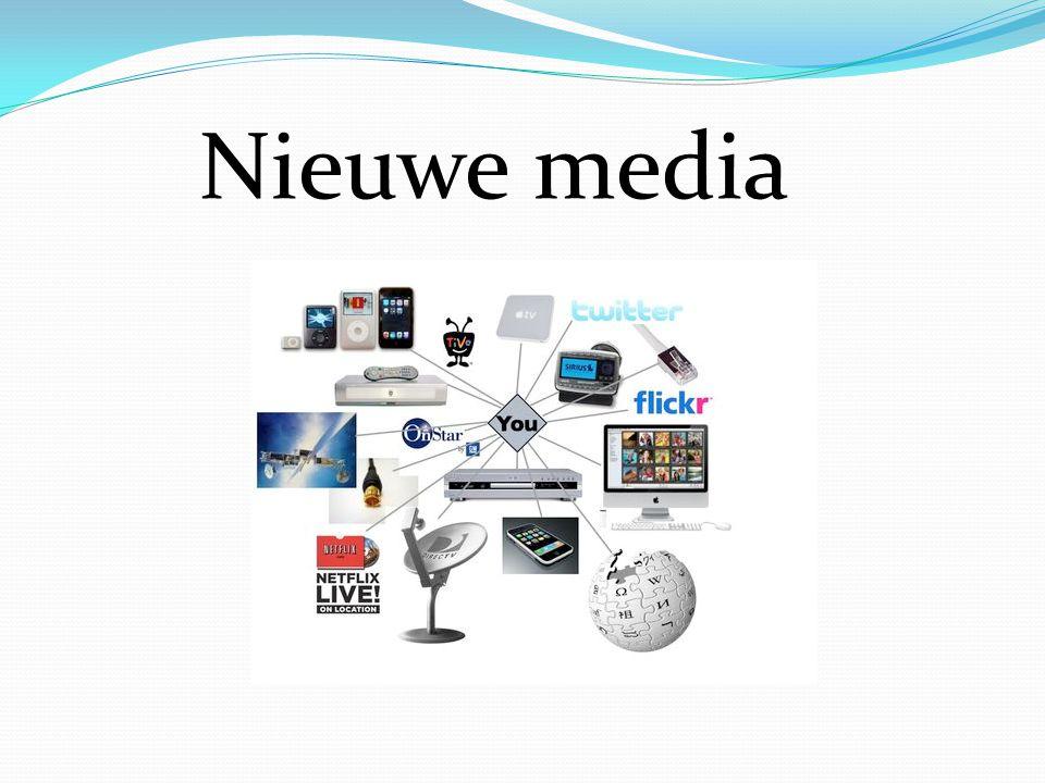 Definitie -Vernieuwde communicatiemiddelen: -Internet (en alles daaromtrent) -Videogames -Digitale fotografie -Gsm s  Smartphones -Tablets -Kortom: alles waar je het woord digitaal kan aan linken
