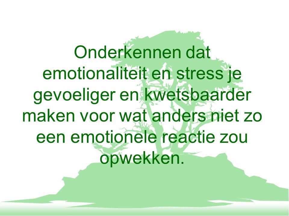 Een gevoelen zo verkieslijk niet ineens willen veranderen, eerder door ze enigszins, minimaal te veranderen en dit te herhalen een grote(re) gevoelsverandering weten bereiken.