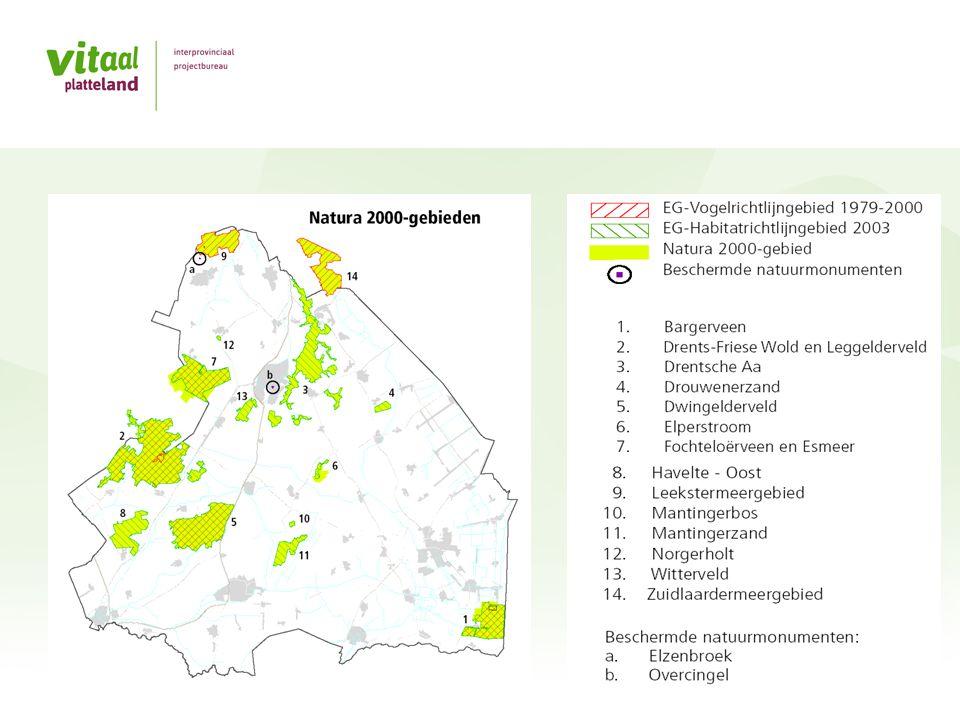 Provincie Drenthe (2) Bron: Land- en tuinbouwcijfers 2012.