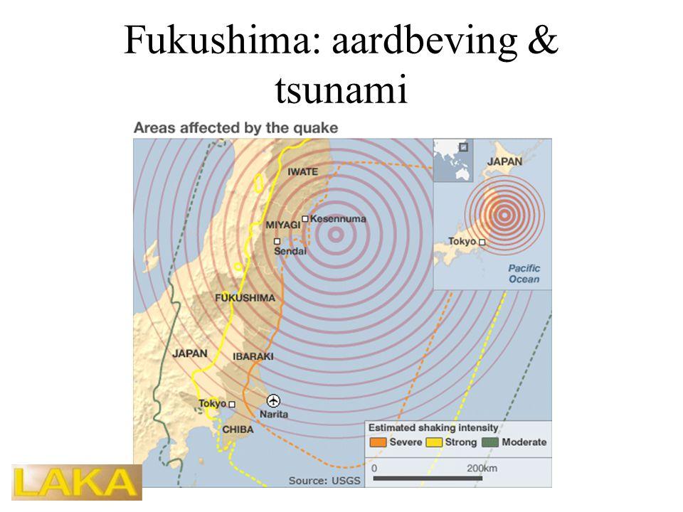 Fukushima: aardbeving & tsunami