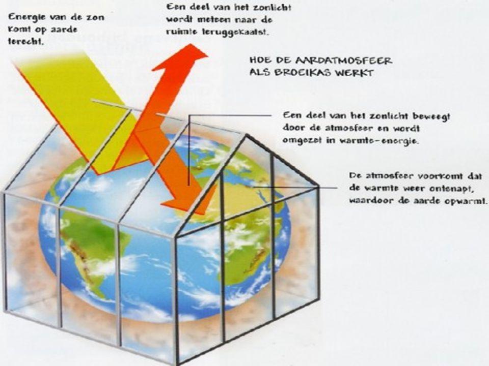 Het lijkt net of de aarde vergaat door het broeikas effect.