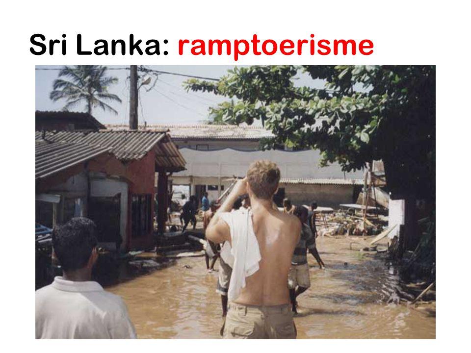 Sri Lanka: ramptoerisme