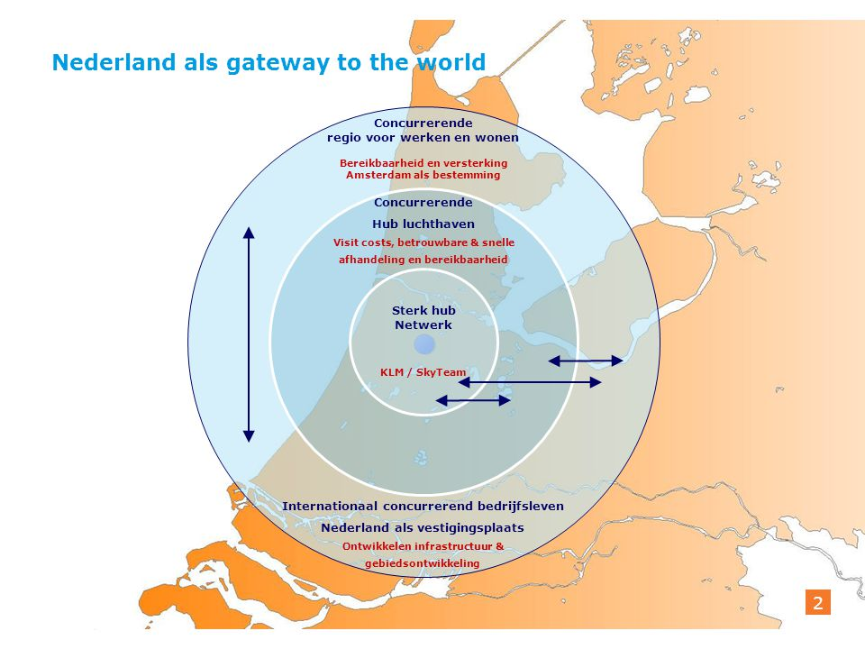 Bilderbergconferentie Vernieuwende Partnerschappen 1 februari 2013 2 Nederland als gateway to the world 2 Concurrerende regio voor werken en wonen Ber