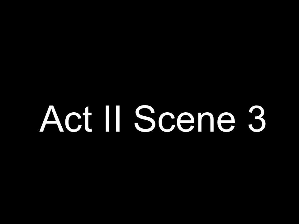 Act II Scene 3