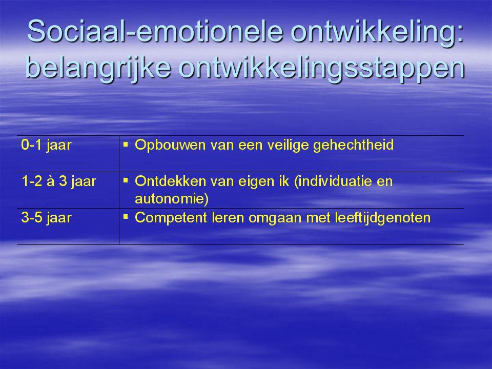 Sociaal-emotionele ontwikkeling: belangrijke ontwikkelingsstappen