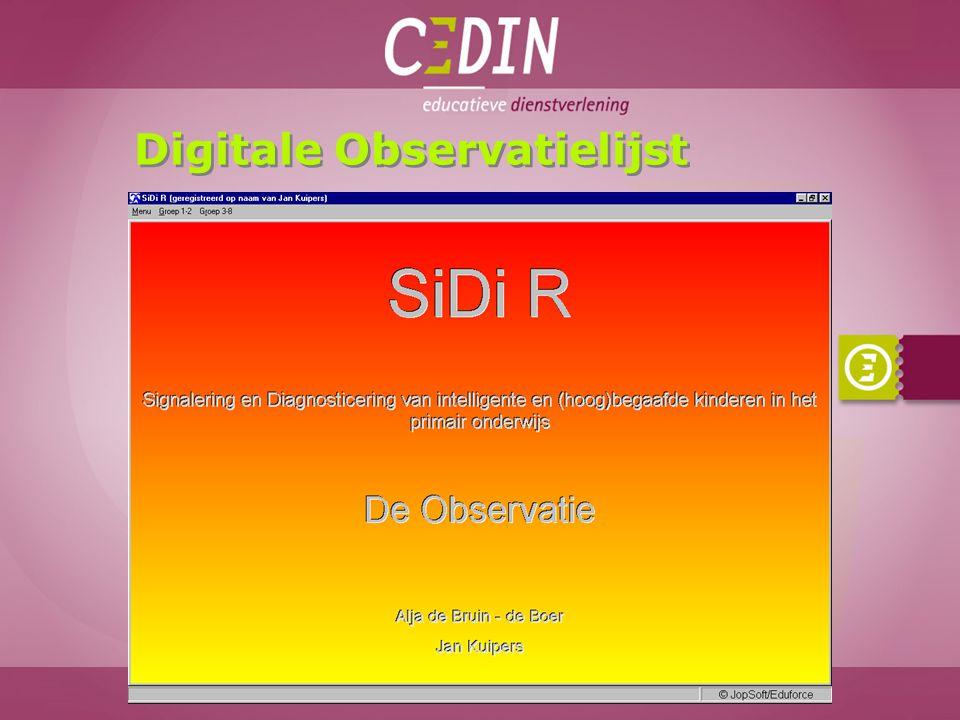 Digitale Observatielijst