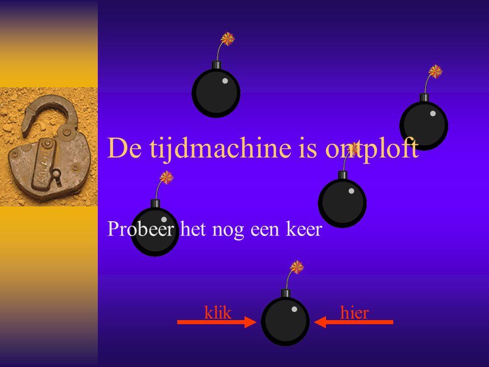 Terug naar 2008… Gelukkig net op het nippertje gered.