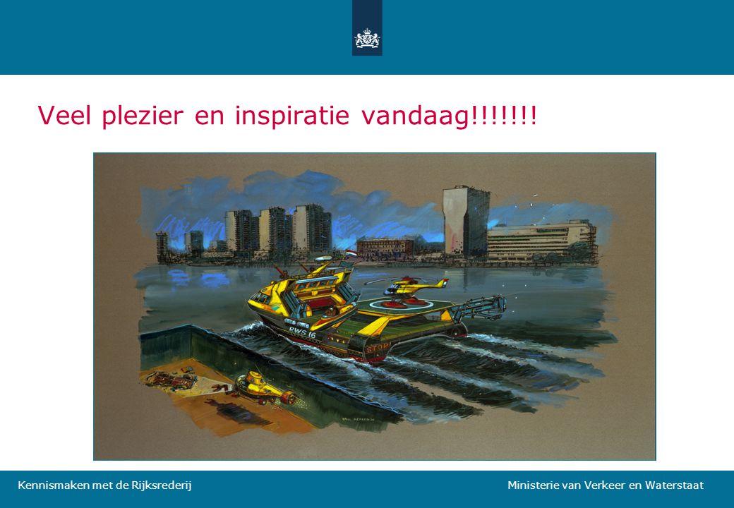 Kennismaken met de Rijksrederij Ministerie van Verkeer en Waterstaat Veel plezier en inspiratie vandaag!!!!!!!
