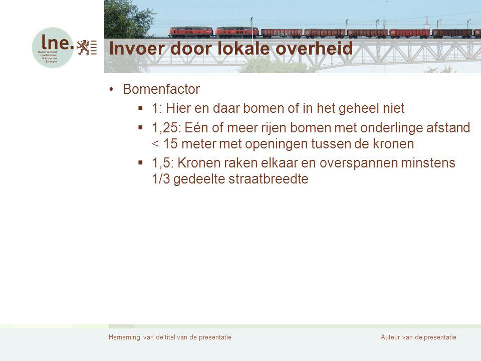 Herneming van de titel van de presentatieAuteur van de presentatie Contact Annemie Wynands •Tel: 02/553 14 93 •annemie.wynands@lne.vlaanderen.be