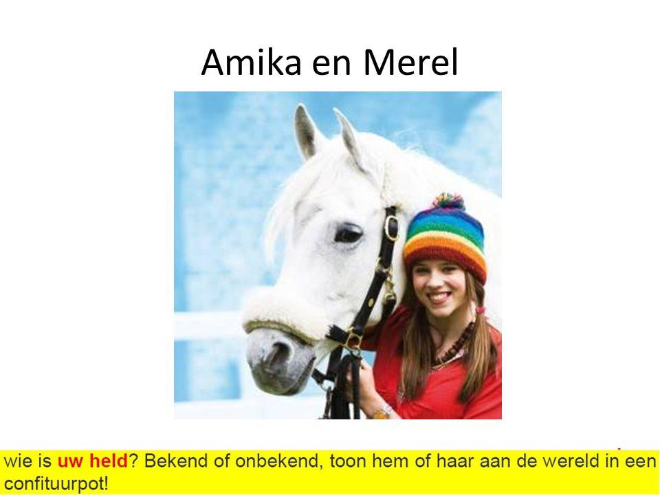 Amika en Merel