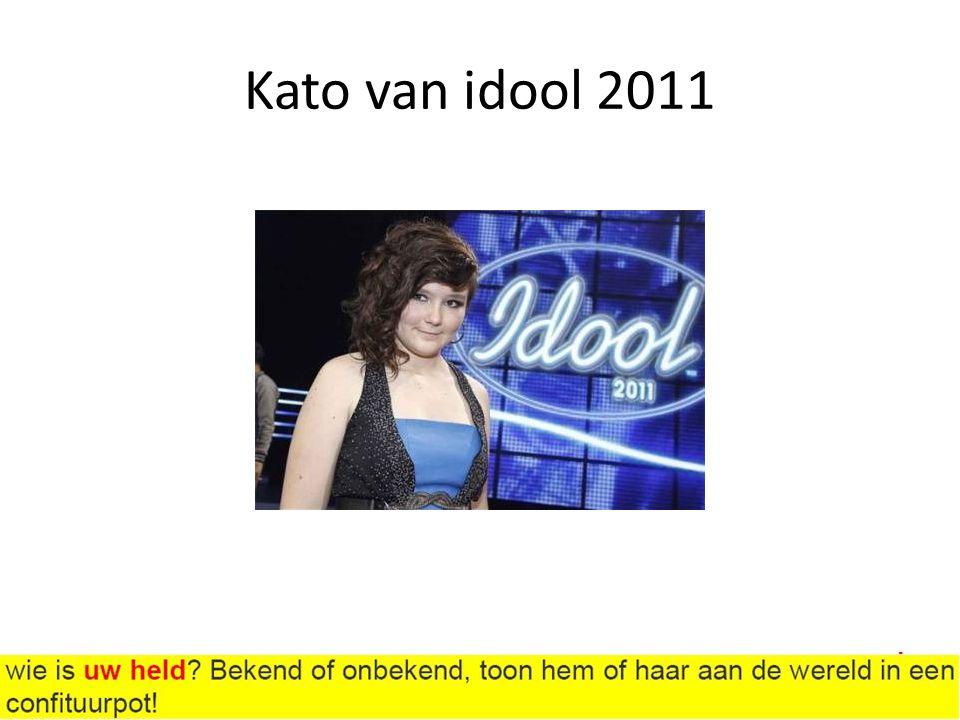 Kato van idool 2011