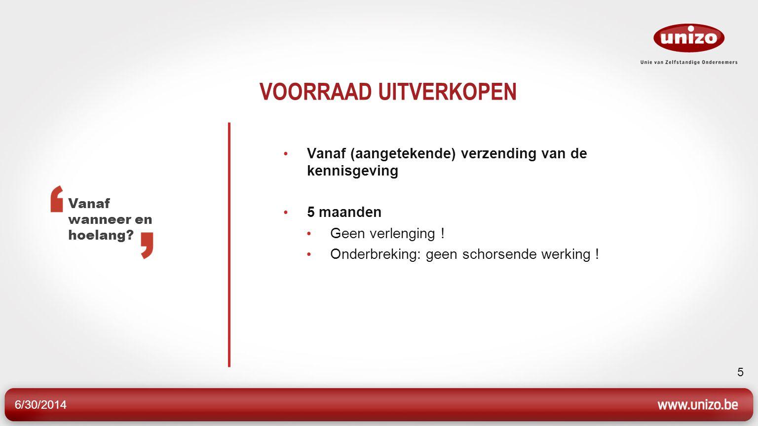 6/30/2014 36 RENTETOELAGE • Zelfstandige of KMO • Getroffen door openbare werken die minstens 1 maand duren • Met min.