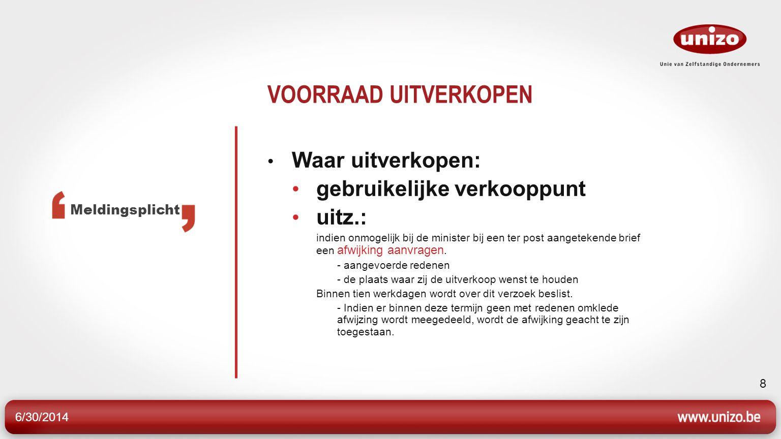 6/30/2014 29 INKOMENSCOMPENSATIEVERGOEDING 2.Aanvraag tot tegemoetkoming -aanvragen bij Participatiefonds -minstens 7 kalenderdagen voor sluiting -speciaal formulier Procedure