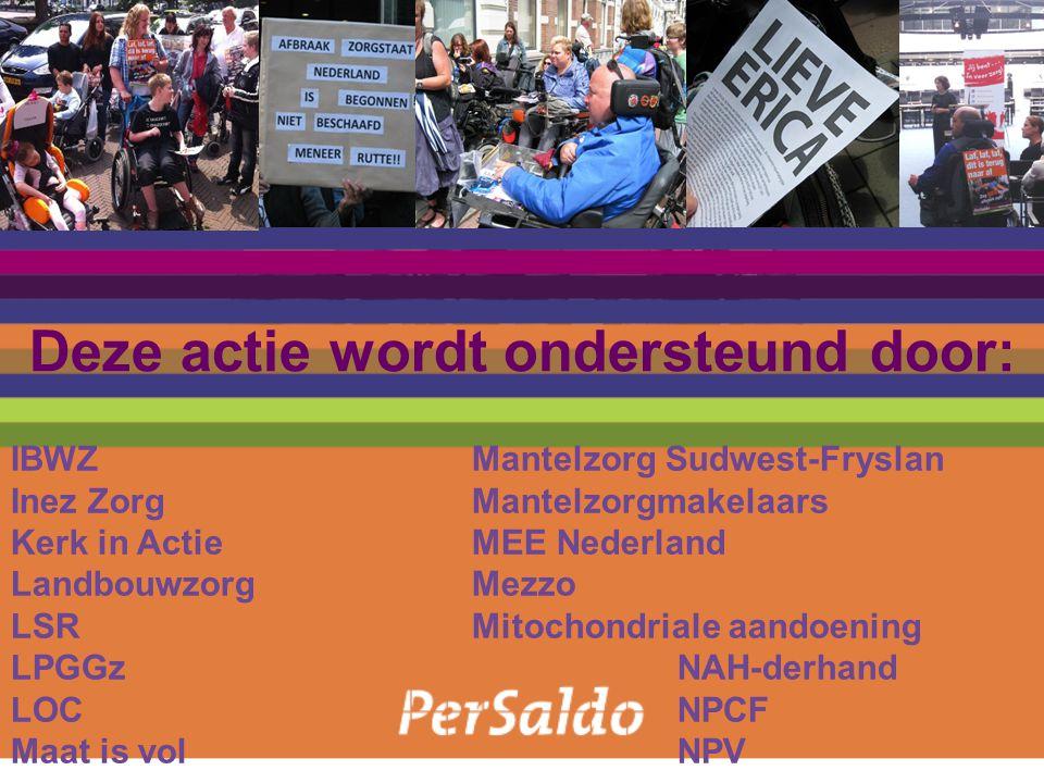 IBWZMantelzorg Sudwest-Fryslan Inez ZorgMantelzorgmakelaars Kerk in ActieMEE Nederland LandbouwzorgMezzo LSRMitochondriale aandoening LPGGzNAH-derhand LOCNPCF Maat is volNPV Deze actie wordt ondersteund door: