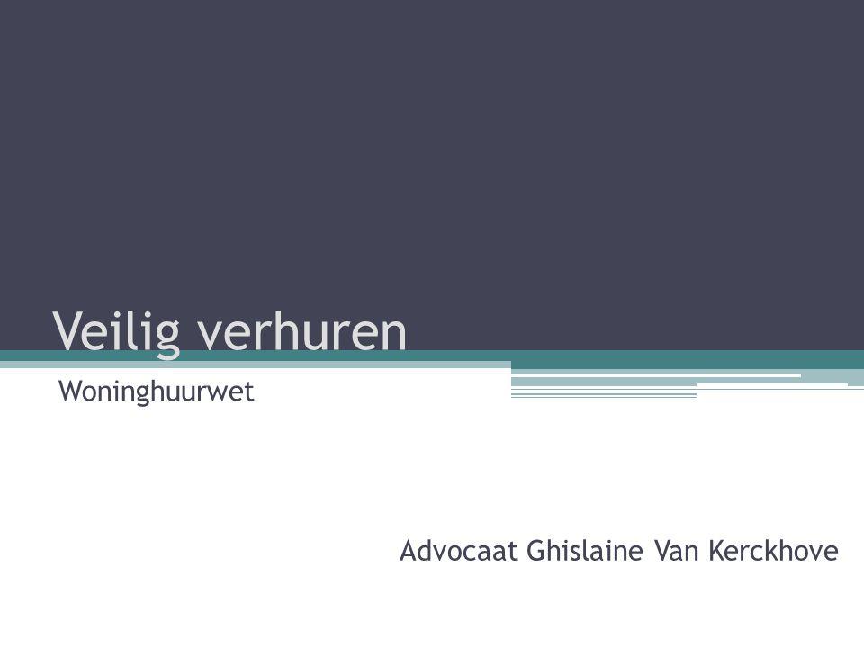 Collectieve schuldenregeling (CSR) • Tijdig aangifte doen van schuldvordering bij schuldbemiddelaar – principe binnen één maand na toezending van beschikking van toelaatbaarheid 22 Veilig verhuren - 3 juni 2014 - Woninghuurwet