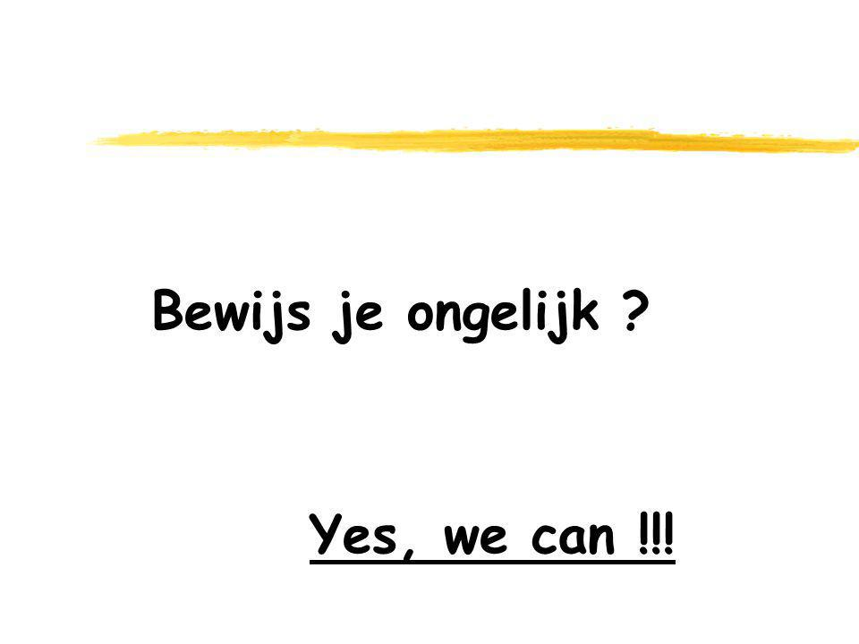 Yes, we can !!!