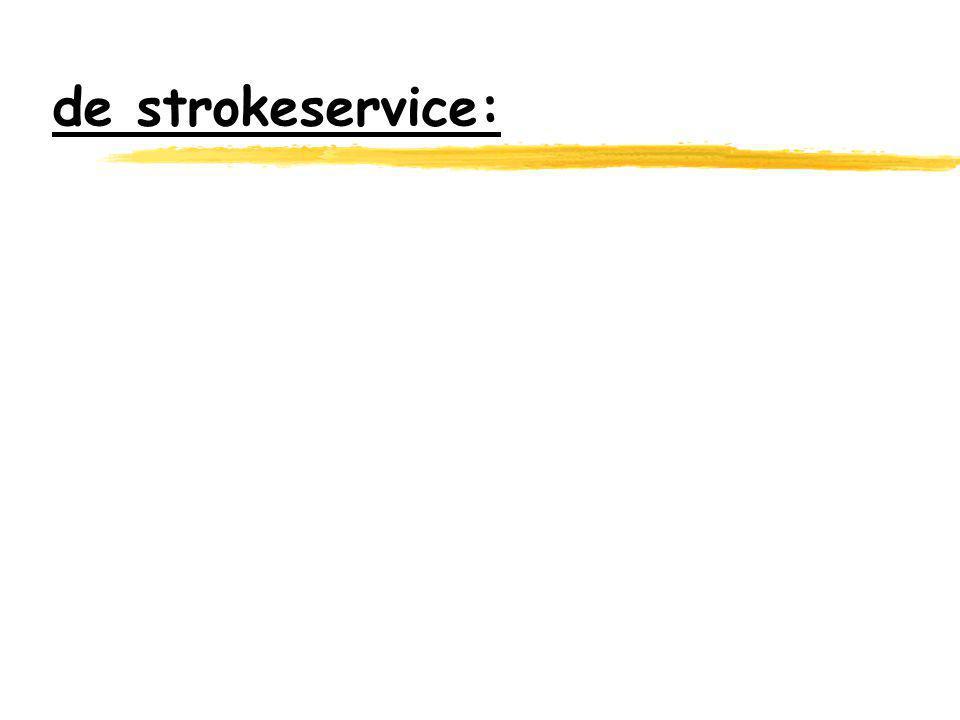 de strokeservice: