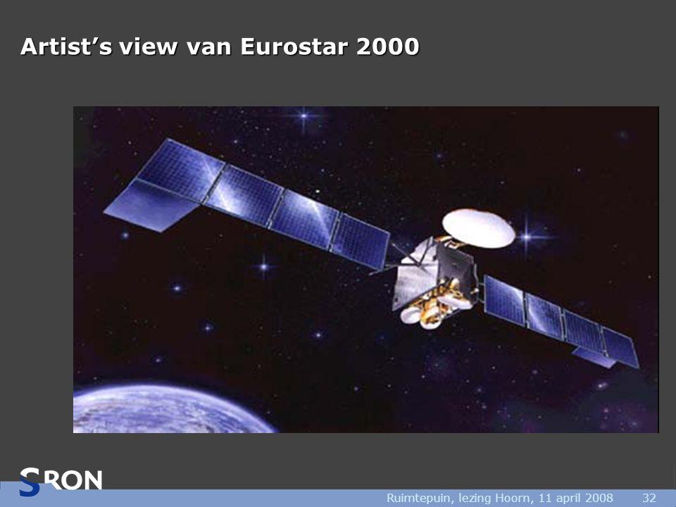 Ruimtepuin, lezing Hoorn, 11 april 200832 Artist's view van Eurostar 2000