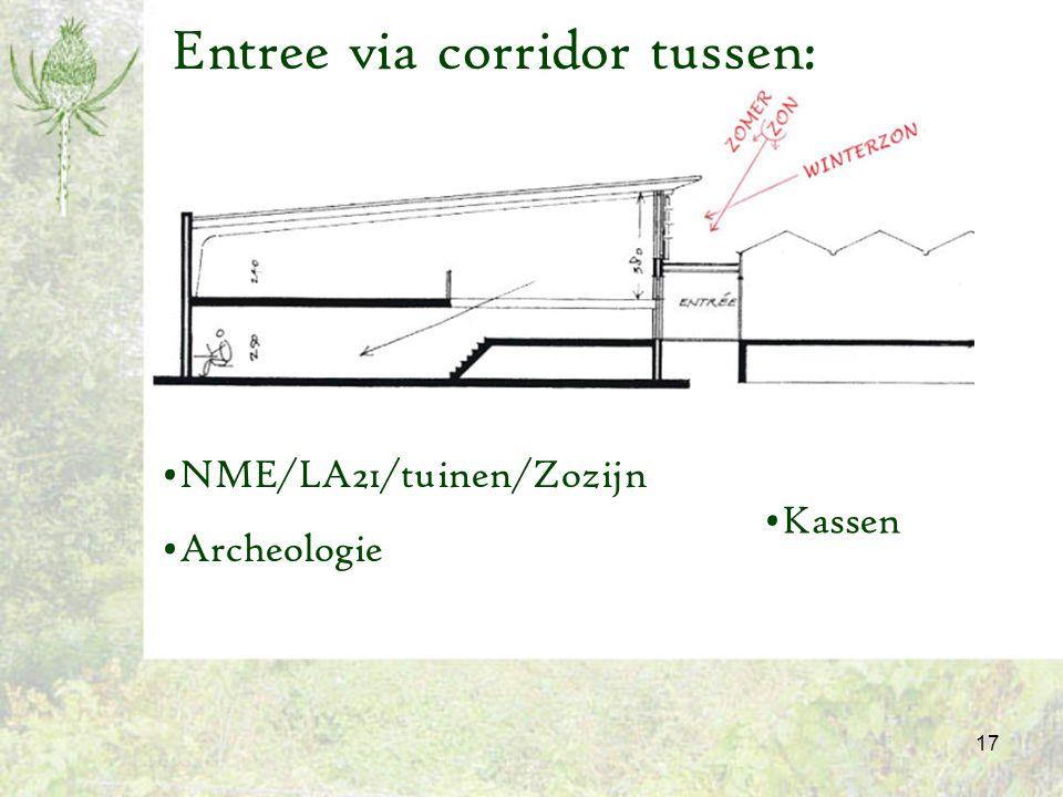 18 Zomer en Winter Entree gebouw NME/LA21/ tuinen/Zozijn Archeologie