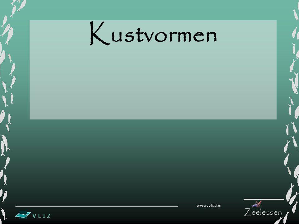 V L I Z www.vliz.be Zeelessen Kustvormen