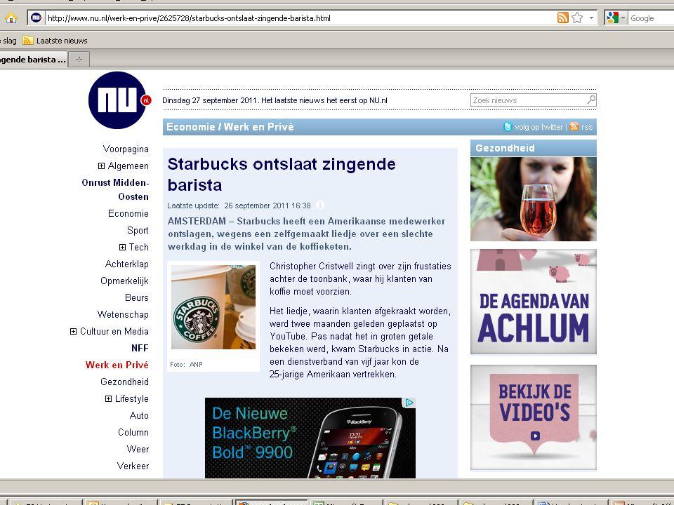 Sturen op bevlogenheid loont! Door: Ruud van den Nieuwenhof Accountmanager 365/ArboNed Datum: 21/4/2011
