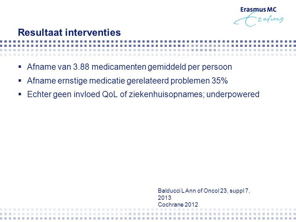  Laatste 20 jaar meer antikanker therapie oraal  Nu ongeveer 25% oraal  Capecitabine  Topotecan  Cyclofosfamide  Hormonale therapieën  TKI's
