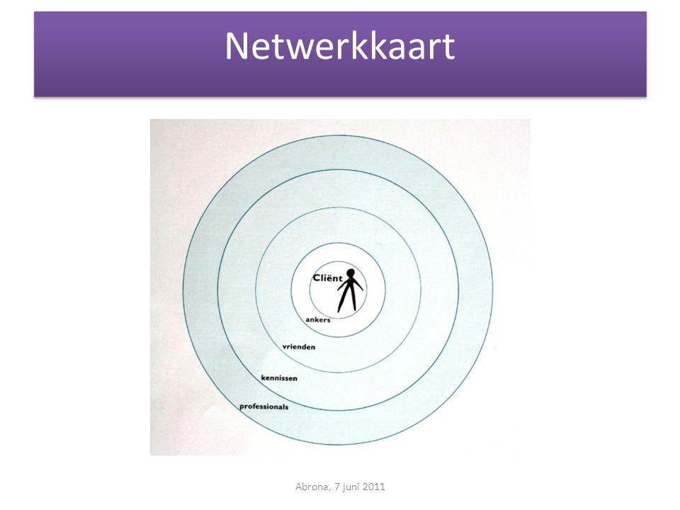 Netwerkkaart Abrona, 7 juni 2011
