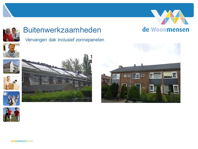Buitenwerkzaamheden Vervangen dak inclusief zonnepanelen