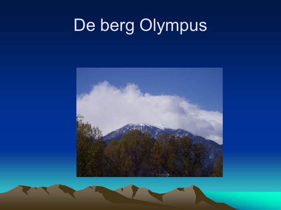 De berg Olympus