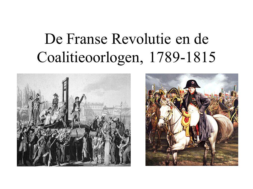 De Vijfde Coalitie-oorlog(1812-1814) •Napoleon maakt een grote fout door Rusland aan te vallen.
