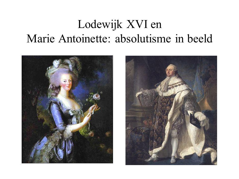 In 1789 roept Lodewijk XVI voor het eerst in 175 jaar de Staten (standen) Generaal weer bij elkaar.