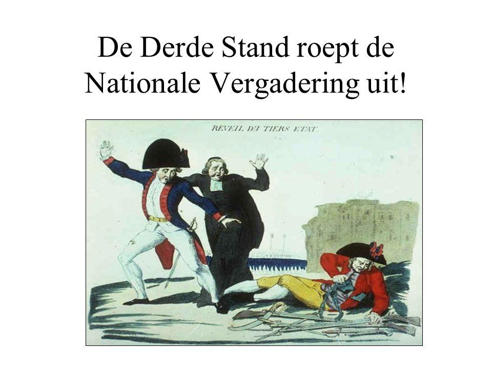 De bestorming van de Bastille: 14 juli 1789 •Angst voor een aanval van de Franse koning leidt tot een bestorming van de Bastille •De Franse Revolutie is begonnen.