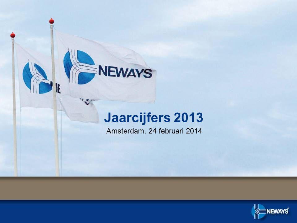 Jaarcijfers 2013 Amsterdam, 24 februari 2014