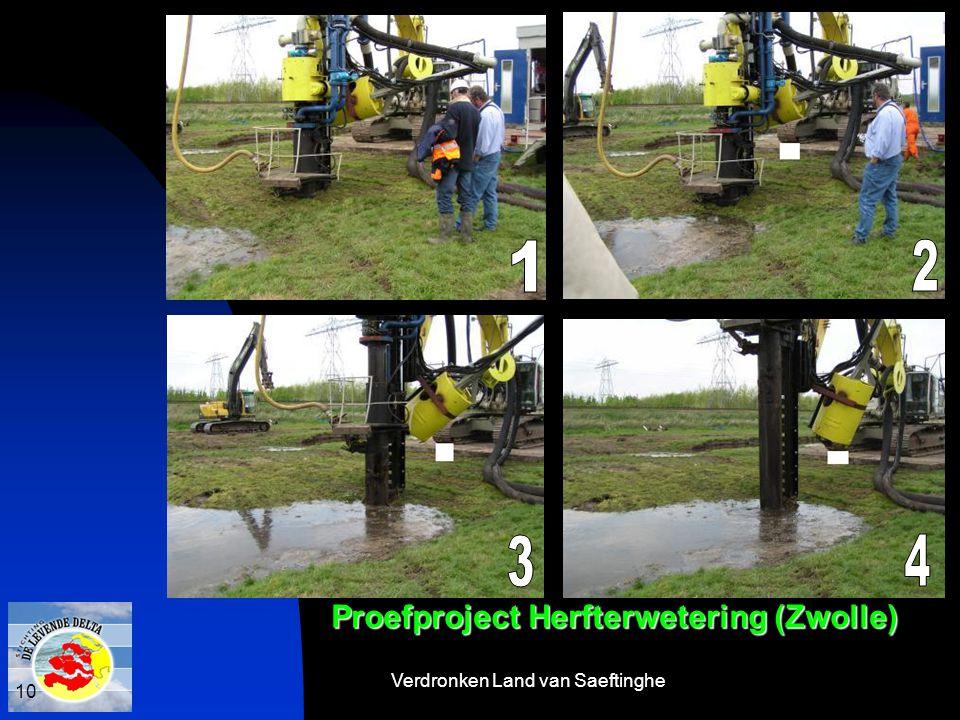 Verdronken Land van Saeftinghe 10 Proefproject Herfterwetering (Zwolle)