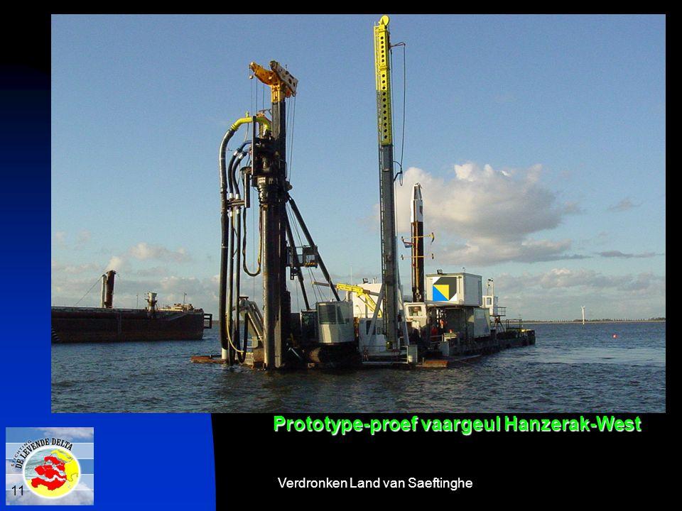 Verdronken Land van Saeftinghe 11 Prototype-proef vaargeul Hanzerak-West