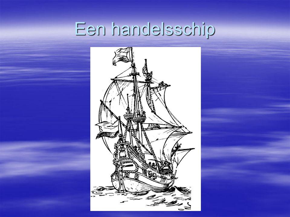 Een handelsschip